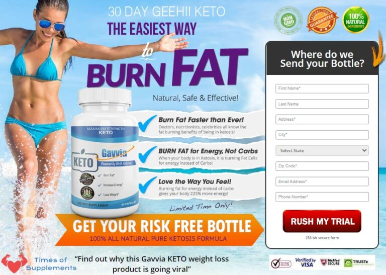 BHB in Gavvia Keto has been enhanced naturally during a proprietary blend