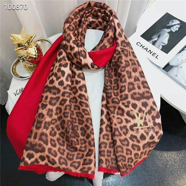 Louis Vuitton Leopard Cashmere Scarf